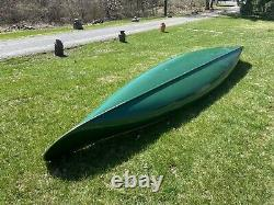 1935 17 Old Town Canoe Wood & Canvas Mint Condition Original Wooden NY
