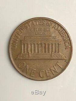 1965 Penny Lincoln No Mint Mark