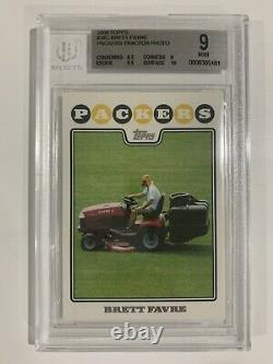 2008 TOPPS #34ABC Brett Favre, Lombardi Ghost, GB Tractor, NY Tractor #105 SSPs