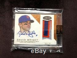 2016 Topps Dynasty Patch Auto Lot Of 7 /10 David Wright New York Mets