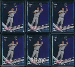 2017 Topps Chrome Aaron Judge RC #169 Rookie 6 Card Lot New York Yankees NYY