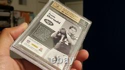 2018 Panini Encased SAM DARNOLD GOLD Notable Signatures 3/5 9.5 GEM MINT NY JETS