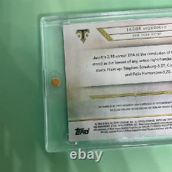 2018 Topps Triple Threads JACOB DeGROM Autograph Relic TTR-JD2 New York Mets 1/3