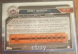 2019 Ronny Mauricio Rc Bowman Prospects Gold 50/50 1/1! Ny Mets Rookie Mint