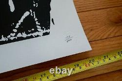BAST Thug Print Pictures on Walls 2003 (NY Street Art, POW, Numbered) MINT