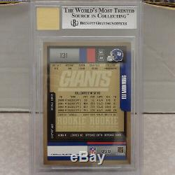 BGS 9 MINT 2004 Playoff Contenders #131 Eli Manning New York Giants /372