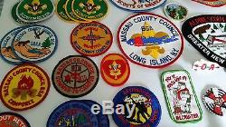 Boy Scout Order of the Arrow Patches NY a 71 pc. Lot MINT, Never Used