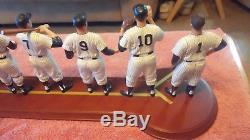 DANBURY MINT 1961 NEW YORK YANKEES TEAM SET FIGURINES Cooperstown Collection
