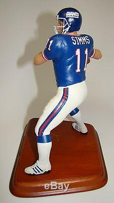Danbury Mint Figure Phil Simms #11 New York Giants Rare and Hard to Find