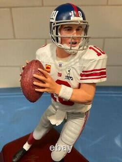Danbury Mint New York Giants Eli Manning with the C. O. A