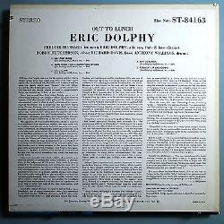 ERIC DOLPHYOUT TO LUNCHULTRA RARE ORIG'64 BLUE NOTE STEREO LPNYEARRVGMINT