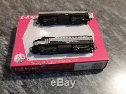 E-R Models N Scale Baldwin RF-16 Locomotive A-B Set New York Central 3806 Mint