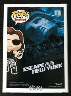 Funko Pop! Escape from New York Snake Plissken NYCC 2020 Excl. LE 1000 MINT
