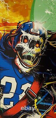 Guns N Roses MINT Lithograph Event Poster NJ MetLife Stadium #45/250 NY GIANTS