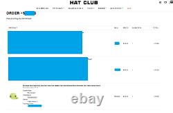 Hat Club Exclusive Gum Pack Double Mint New York Yankees Size 7 1/2