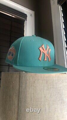 Hat Club Exclusive New York Yankees Sugar Shack Mint All Star Patch Size 7 3/8