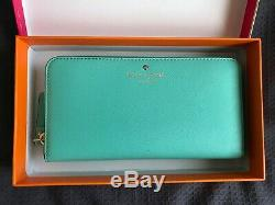 Kate Spade New York Leather Wallet (Mint Green New)