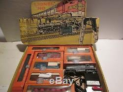 LIONEL HO SCALE #5727 GP 9 N. Y. CENTRAL FREIGHT SET, + 6 CARS With BOX MINT