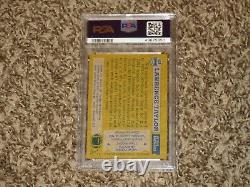 Lawrence Taylor 1982 Topps #434 All Pro NY Giants HOF Rookie Card RC PSA 9 MINT