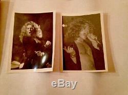 Led Zeppelin Rare One Of aKind Lot 77NY Tour, 76 Movie Premier SwanSong Photos