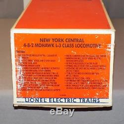 Lionel 6-18009 New York Central NYC Mohawk L-3 4-8-2 Steam Engine 1990 mint