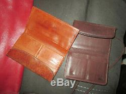 Lot Of 11 Vintage Coach Handbags Breifcase Wallets And More! Made In New York