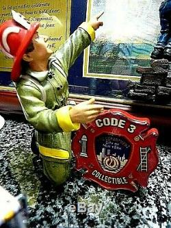 Lot X 4. Code 3 F. D. N. Y. Fire Apparatus Vehicles Plus Special F. D. N. Y. Tribute