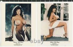 Lot of 13 Busty BriAnna Photos Circus Gymnast, Contortionist & Miss Nude NY