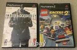 Lot of 5 Sony PS2 Video Games (Def Jam Fight for NY) (READ DESCRIPTION)