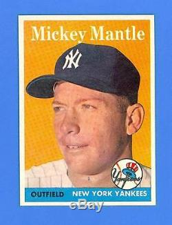 Mickey Mantle 1958 Topps #150 New York Yankees Mint Condition