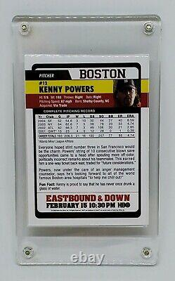 MINT 2009 HBO Eastbound & Down Topps Promo Cards FULL SET Kenny Powers Rookie