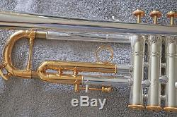 MINT Bach Stradivarius Limited Edition Model 197 Trumpet New York 7 with case