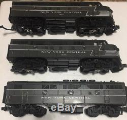 MTH 20-2176-1 New York Central F-3 ABA Diesel Loco Set withProtosound LN. MINT