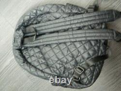 MZ Wallace New York City Quilted Backpack In Matte Black In Near Mint Condition