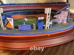 NEW NY Mets Lighted Night Game at Shea Stadium, Danbury Mint