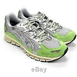 NWT Asics Awake NY Gel Kayano 5 360 Silver Mint Green Sneakers 10 SS19 AUTHENTIC