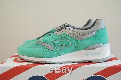 New Balance X Concepts 997 Rivalry Pack NYC New York Mint Made USA size 10