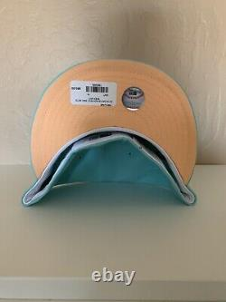 New Era Mint Sugar Shack NY Mets Hat with Pin -Hat Club Exclusive- 7 1/2