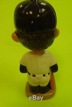 New York Yankees 1960s vintage gold base Bobblehead NEAR MINT CONDITION