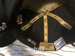 New York Yankees World Series Fitted Hat Lot Of 13 Size 7 1/2