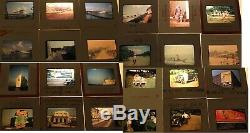 Photo Slides 1940-70's Lot 975+1964 Ny Worlds Fair/67 Expo Montreal/billboards+