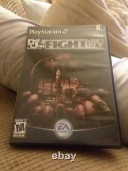 PlayStation 2 Def Jam Fight For NY PS2 Black label missing manual lot B