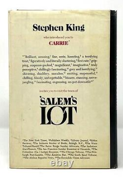 Stephen King'Salem's Lot 1st 1st First STATED / Q39 / Dj with $8.95 Price