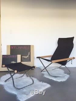 Takeshi Nii NY Rocking Chair and Ottoman MINT condition, Original Boxes! DWR