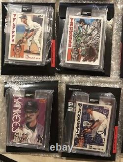 Topps Project 2020 Don Mattingly Complete Set of 20 New York Yankees