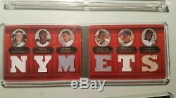 Topps Triple Threads Double Combo Relics 4 Booklet Lot New York Mets 2007 08 11