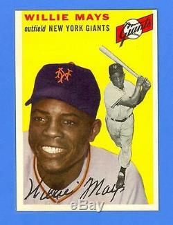 Willie Mays 1954 Topps #90 New York Giants Mint Condition