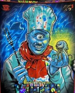 Ween Holographic Foil Poster #/30 Mint 2/15/2020 New York @ Terminal5 Zoltron N2